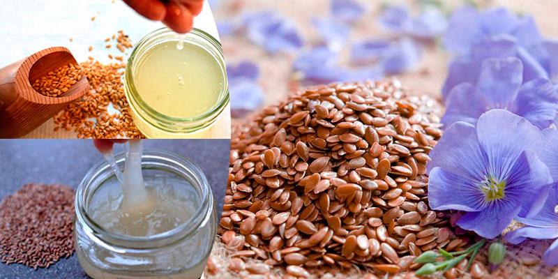 Маска для лица из семени льна для подтяжки