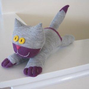 котик из носков своими руками