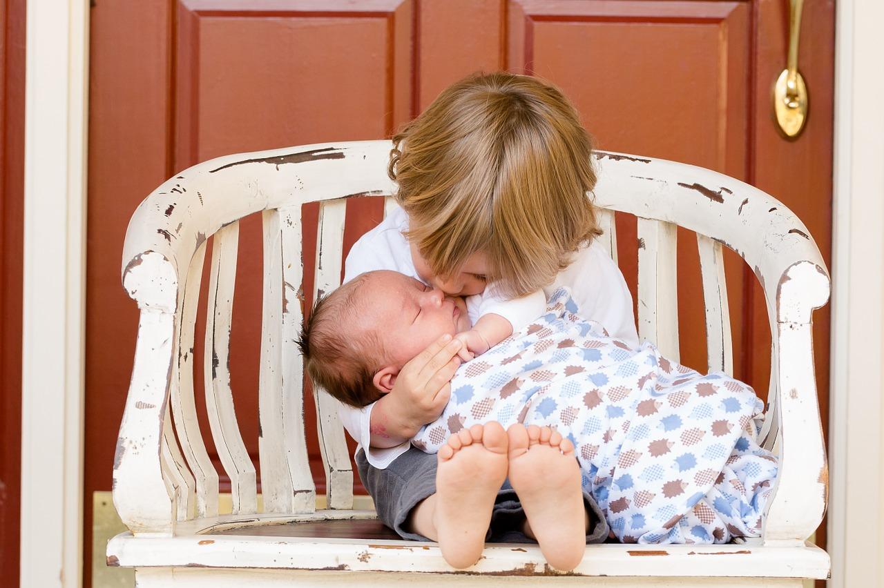 Дети с разницей от 2 до 4 лет