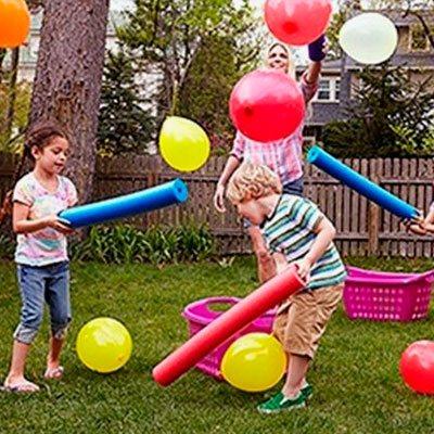 игры с надувными шариками