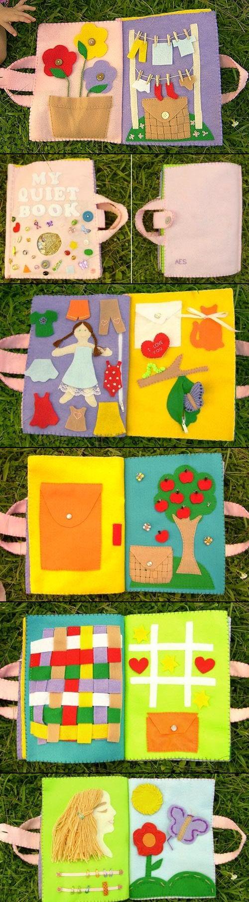 Шьем развивающую текстильную книжку для малыша своими 55