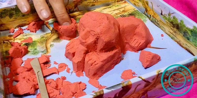 что такое кинетический песок
