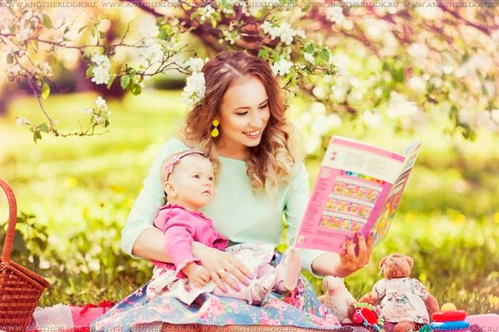мама читает сказки