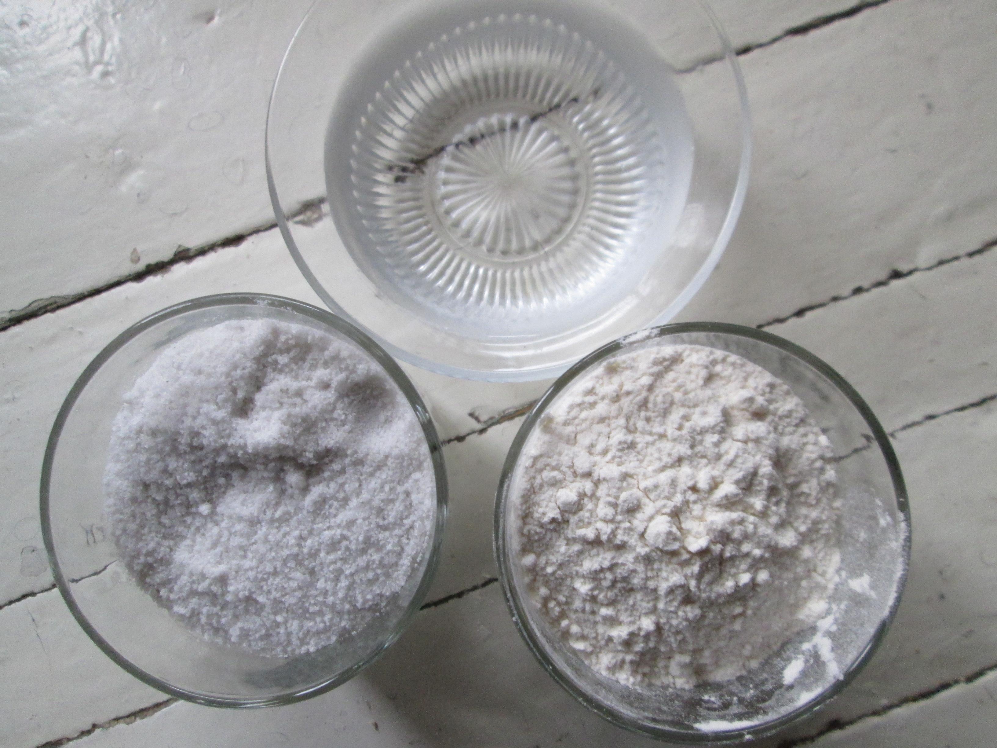 новогодние поделки из соленого теста