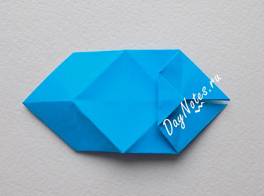 снежинка оригами мастер класс