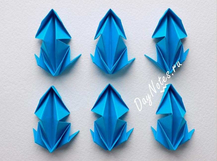 снежинка оригами из бумаги объемная модульная