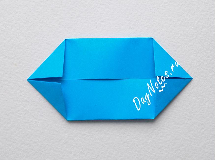 снежинка оригами из модулей пошагово