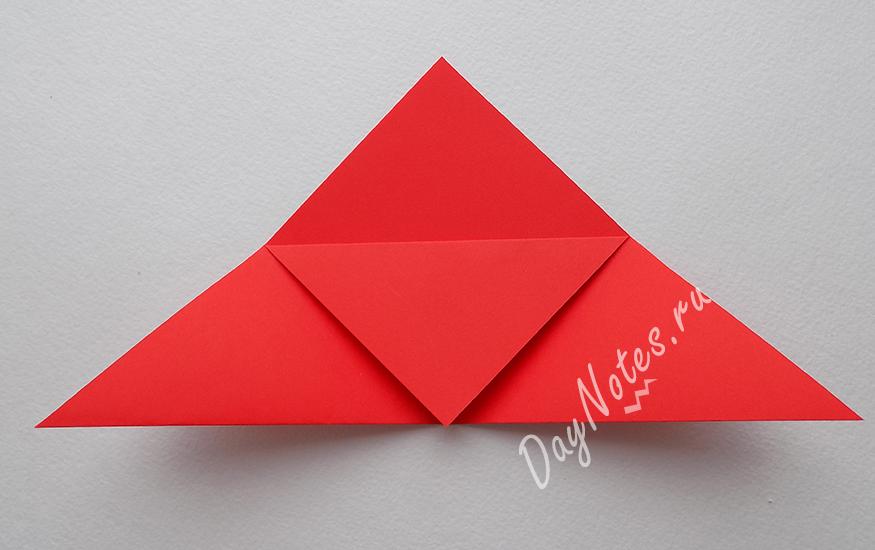 закладки для книг из бумаги оригами уголок
