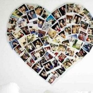 коллаж из фото на день влюбленных