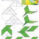 бумажный самолетик схема