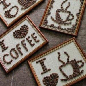 поделки из кофе на день святого валентина
