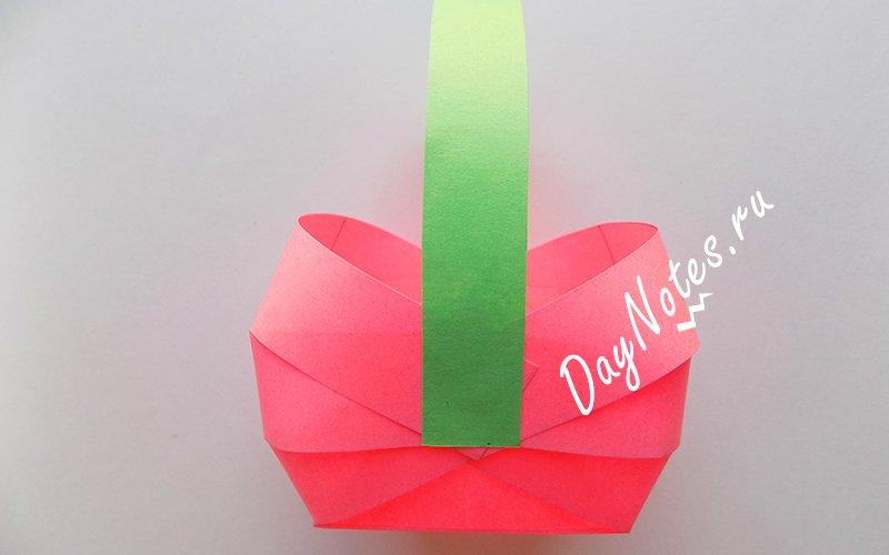 ручка для сумки из бумаги