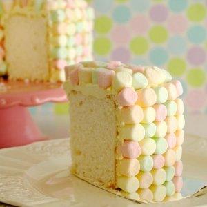 торт с маршмелоу