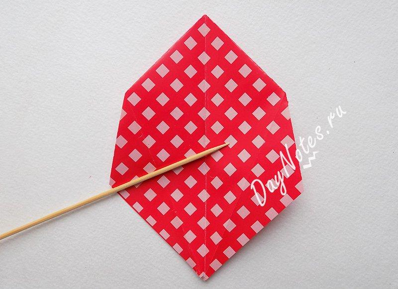 как сделать корзинку из бумаги на пасху