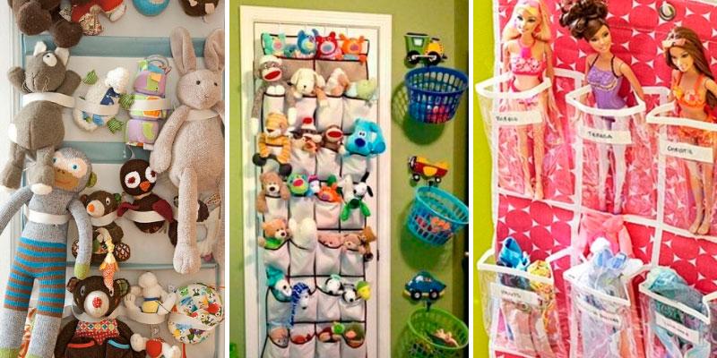 органайзер для игрушек на дверь
