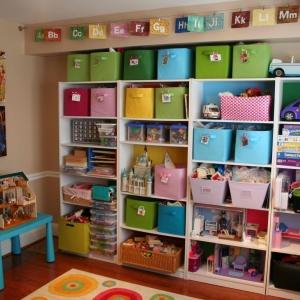 хранение игрушек в однокомнатной квартире