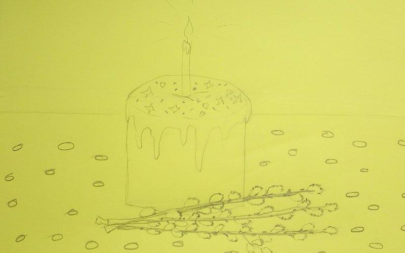 рисунки к пасхе для детей своими руками