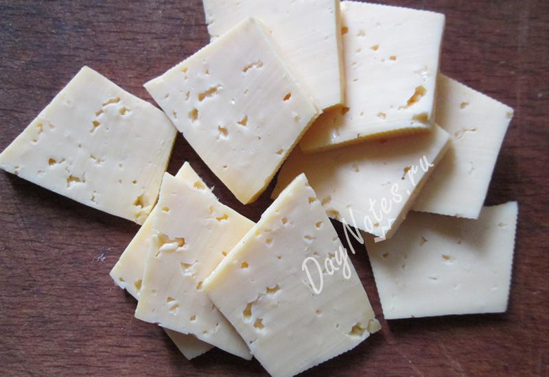 запеченый картофель с сыром