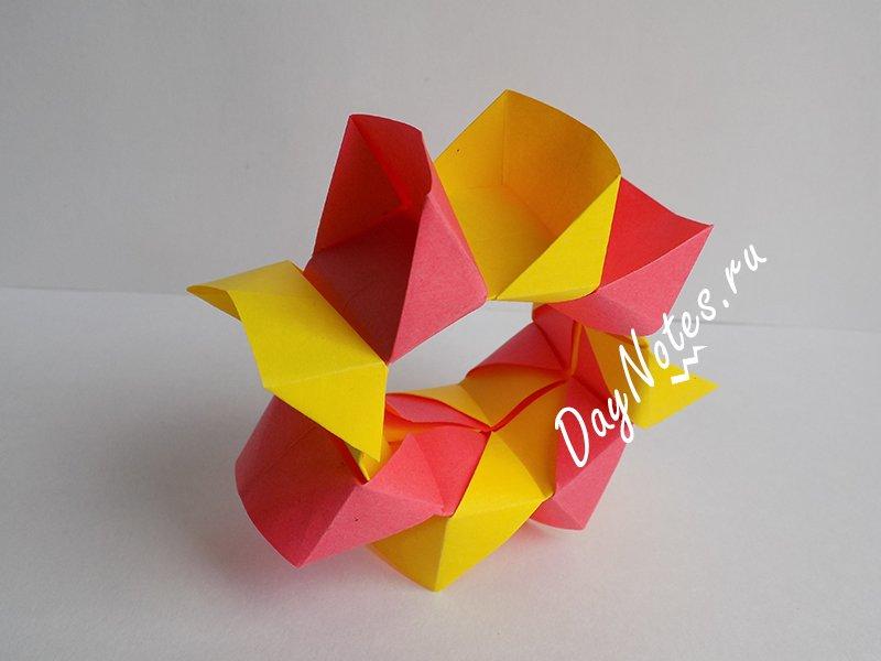 сделать из бумаги игрушку для ребенка