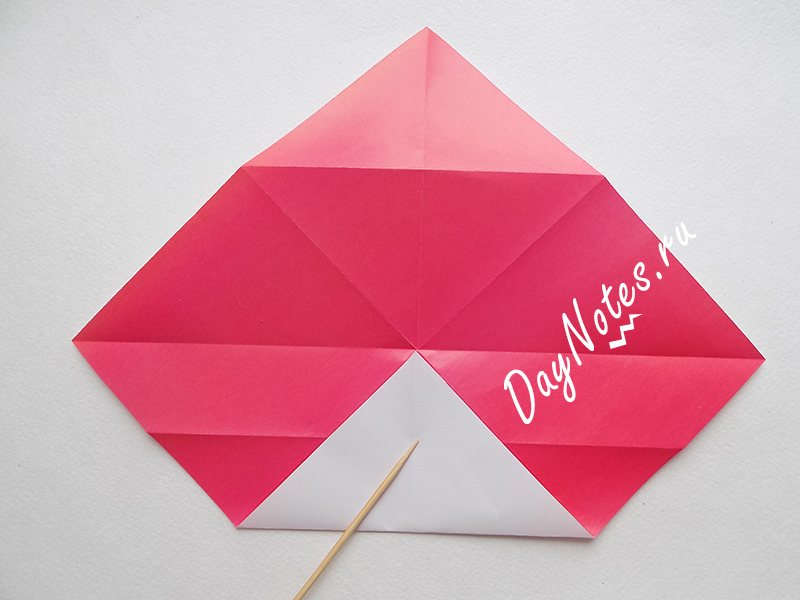 поделка конверт из бумаги