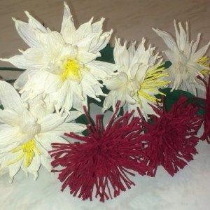 цветы к пасхе поделка