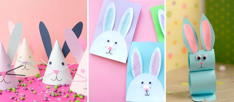 поделки к пасхе кролик