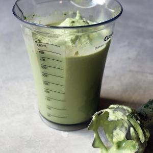 коктейль с зеленым чаем