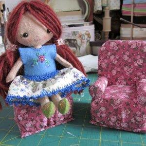 Мебель для кухни куклам своими руками