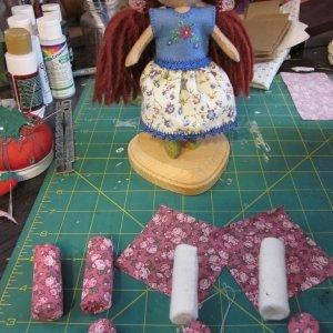 мебель для кукол из картона