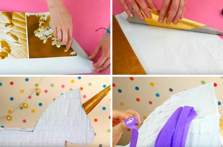 пиньята своими руками в домашних условиях за день как сделать пиньяту быстро и легко