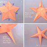 морская звезда из бумаги