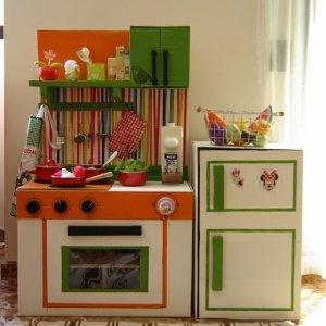 кухня для девочки своими руками