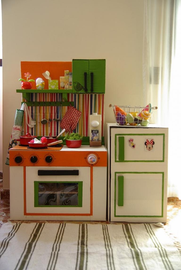 Гифка кухня из коробок для девочек, для мужчины весы