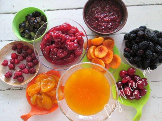 ягоды для торта