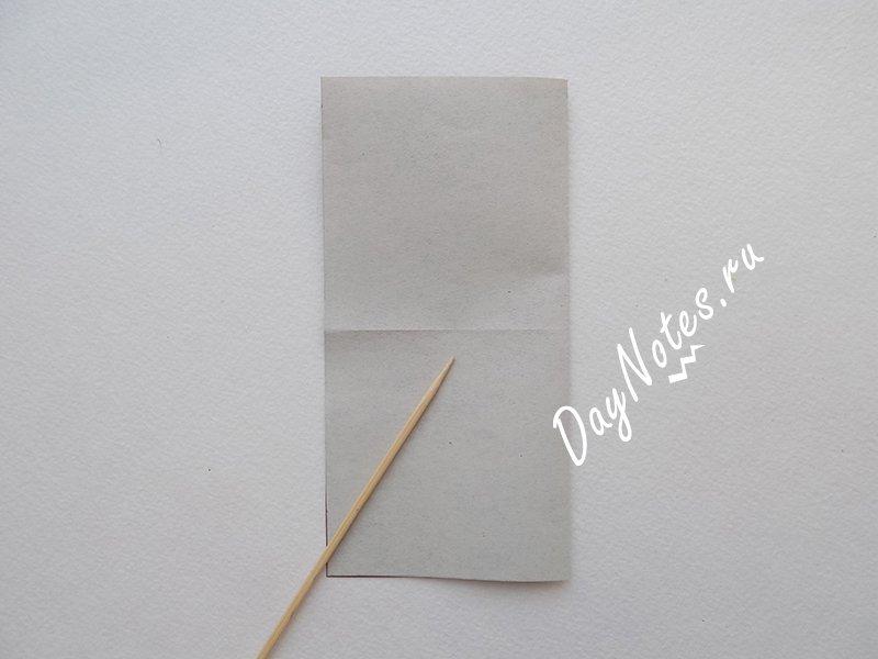 птичка из бумаги МАСТЕР КЛАСС
