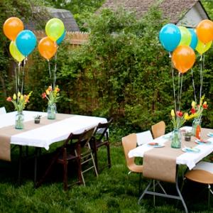 детский день рождения на даче идеи