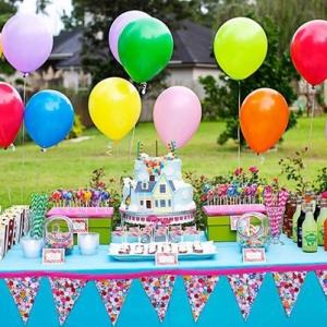 детский день рождения на даче оформление