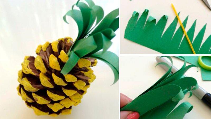 ананас из шишки