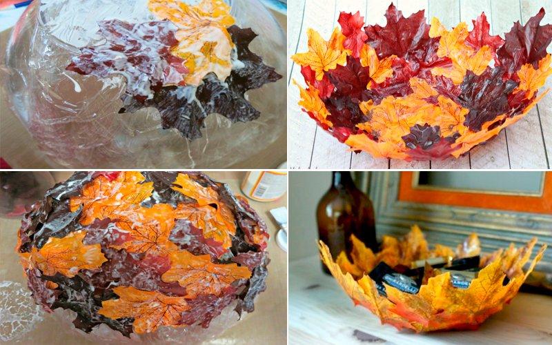 поделки из природного материала для детского сада