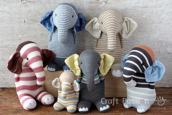 слон из носка