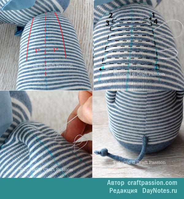 Мастерим поделки из носков своими руками