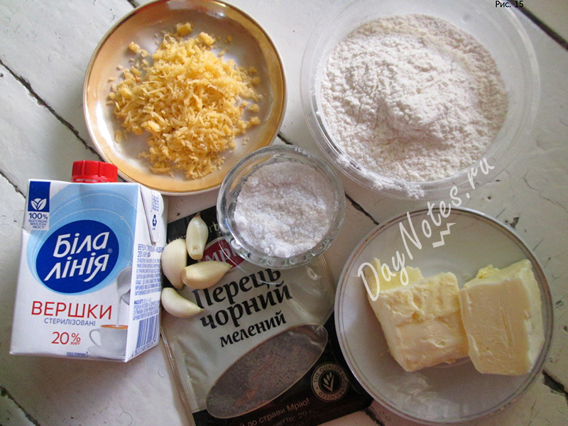 сырный соус компоненты