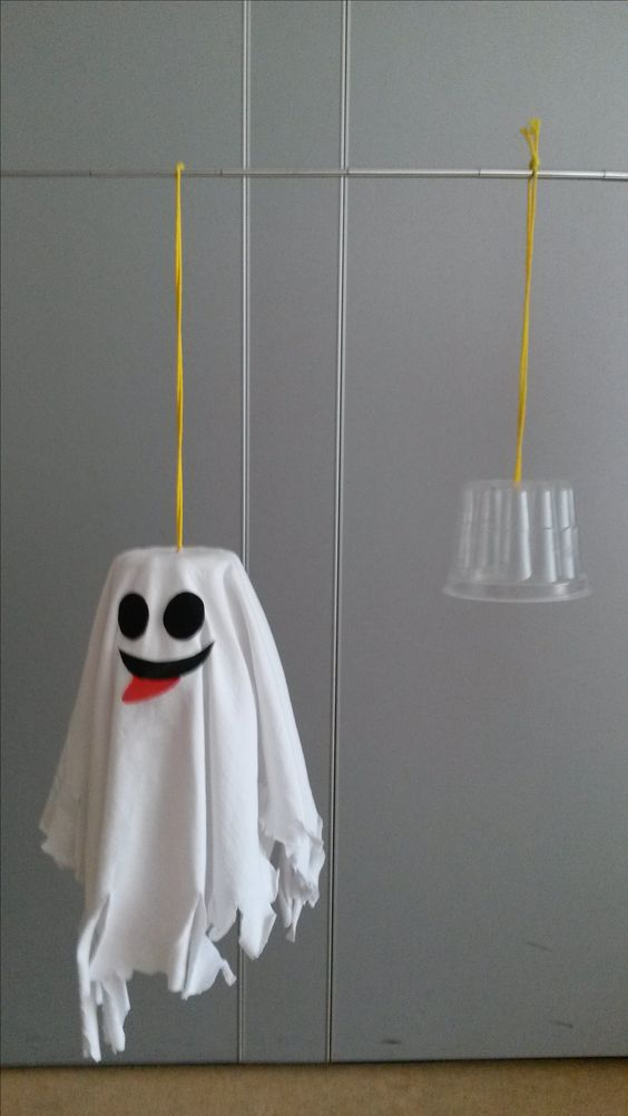 Самодельные украшения для хэллоуина