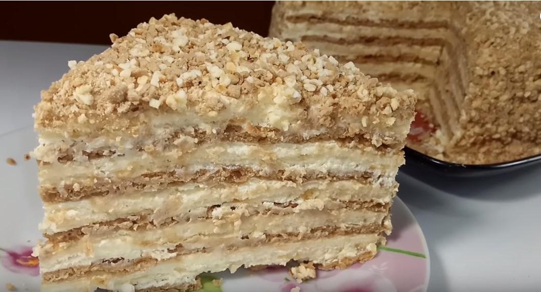 торт на быструю руку в домашних условиях