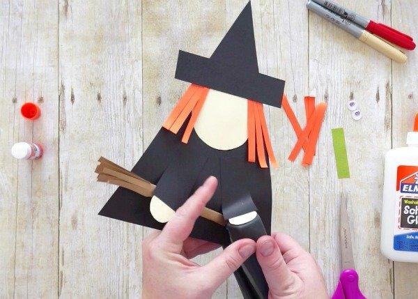ведьма из бумаги