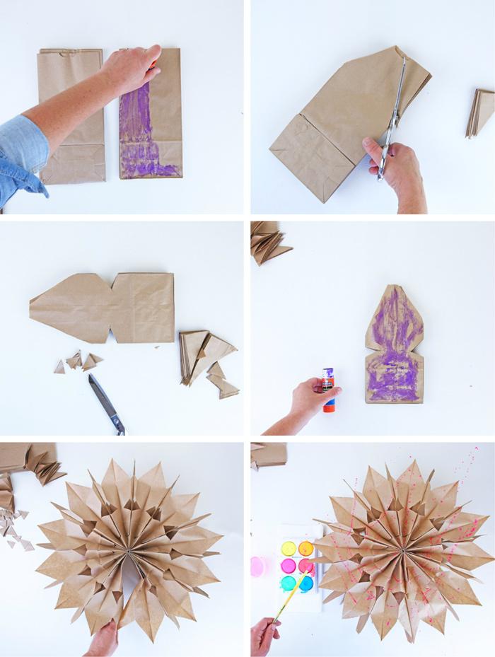 How-to-Make-Paper-Stars-BABBLE-DABBLE-DO-steps-1 Как сделать объёмную звезду из бумаги и картона своими руками. Шаблоны и схема для объемной звезды своими руками. Как сделать объемную звезду в технике оригами