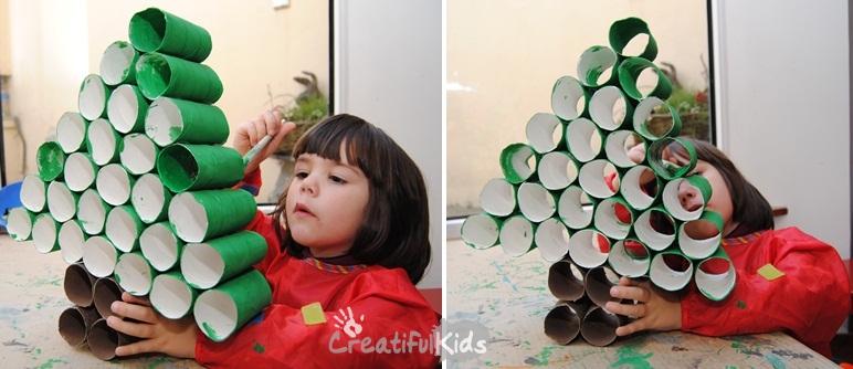 20 маленьких елочек своими руками, которые украсят любой дом!