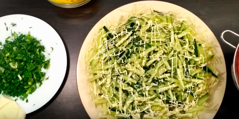 вегетарианские салаты на новый год 2019
