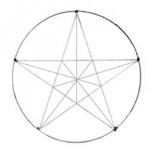zvezda13-300x300 Как сделать объёмную звезду из бумаги и картона своими руками. Шаблоны и схема для объемной звезды своими руками. Как сделать объемную звезду в технике оригами