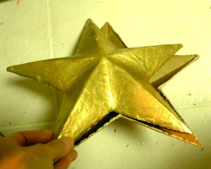zvezda2 Как сделать объёмную звезду из бумаги и картона своими руками. Шаблоны и схема для объемной звезды своими руками. Как сделать объемную звезду в технике оригами